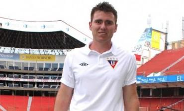 Lucas Vivas es el Preparador Físico de la Liga Deportiva Universitaria