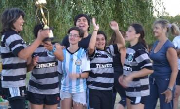 Fútbol femenino: Palertino es el campeón del torneo