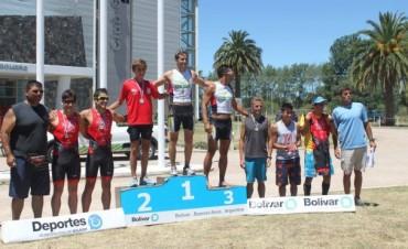 Franco  De Vigo fue el ganador del Triatlón de la Amistad