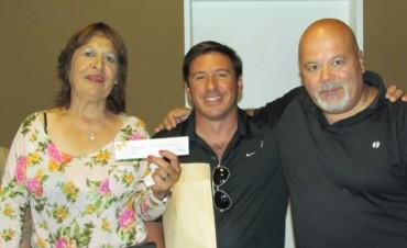 Fernando Didoménico fue el ganador del sorteo contado