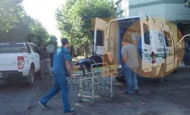 Una mujer lesionada en una colisión acaecida en Roca y Las Heras