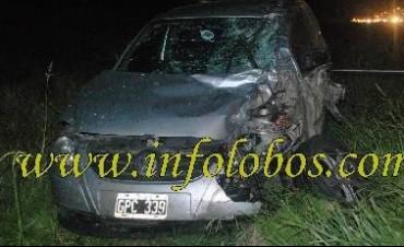 Mueren dos jóvenes de Saladillo en trágico accidente en ruta 205