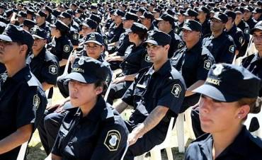 Adelanto salarial a la Policía y reunión con judiciales