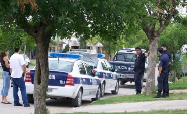 Dos robos, un principio de incendio y la policía evitó una tragedia familiar