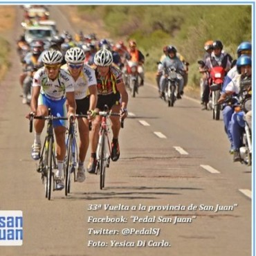 Escuela ganó la etapa reina y recuperó la punta de la Vuelta a San Juan