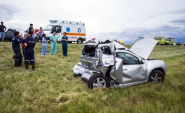 Accidente fatal en la ruta 3, en imediaciones a Azul