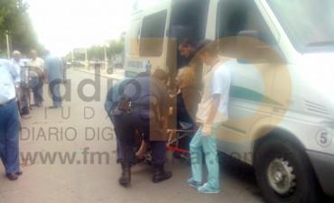 Segundo impacto en la calles de Bolívar, acaecido este lunes a la mañana