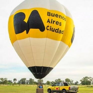 Mañana llega a Bolívar el Globo de Turismo Buenos Aires