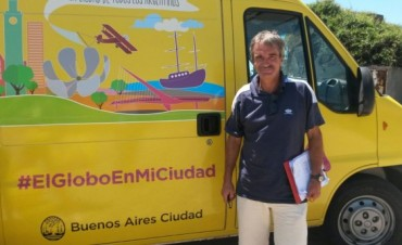 Simón-Macri 2015 presentó el globo aerostático y las promociones de turismo