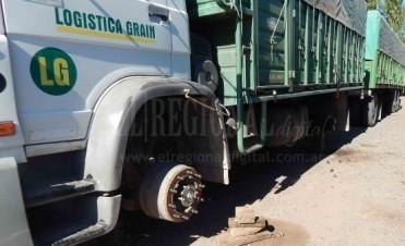 Una banda de Olavarría sería la sindicada en el robo de neumáticos de camiones
