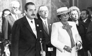 Murió María Lorenza Barrenechea, viuda del expresidente Alfonsín