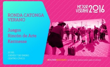 Este jueves 7 vuelve la 'Ronda Catonga' de Verano
