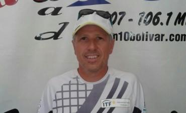 Tenis: Eugenio Prado volvió a Bolívar para enseñar