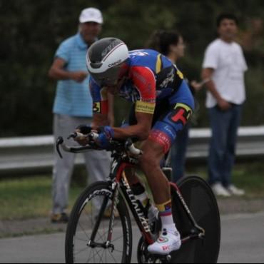 Vuelta de San Juan: Dotti no le pierde pisada de Rosas, y terminó segundo en la cuarta etapa