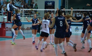 Argentina superó a Venezuela 3 a 1 en el Preolímpico de Voley Femenino con la presencia de Marianela Garbari