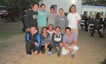 Bomberos Voluntarios de Pirovano realizó su primera salida