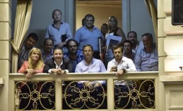 Bali Bucca participa de la firma del Pacto medioambiental de San Antonio de Padua