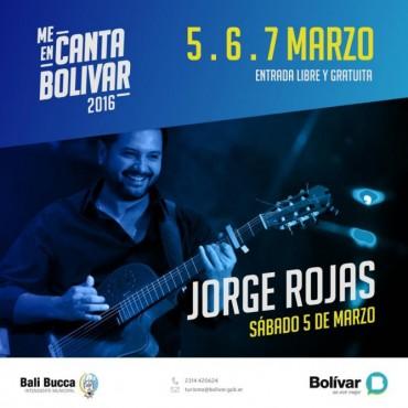 Jorge Rojas es el primer espectáculo confirmado para el MeEncanta Bolívar 2016