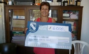 La 'Tarjeta Azul' del Club Independiente entregó los premios a los ganadores del mes de diciembre