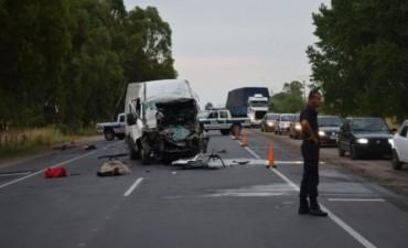 Ruta 51: murió un hombre en un choque entre dos vehículos que circulaban en el mismo sentido
