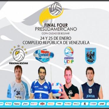 Personal Bolívar piensa en el 'Final Four Presudamericano'