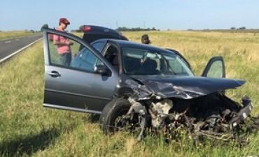 Un bolivarense involucrado en un accidente en ruta 205