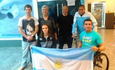 Concentración de la Selección Nacional de Paracanotaje