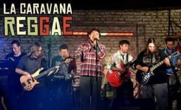 Ante de su presentación en Carhué, La Caravana Reggae se presentará en el Callejón