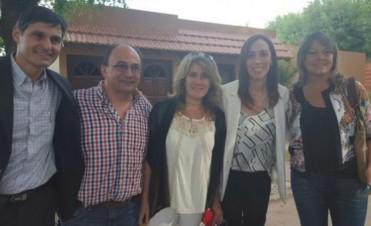 Vidal visitó de sorpresa a vecinos y comerciantes en Saladillo