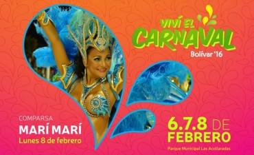 Carnavales 2016: Confirmaron la presencia de la comparsa 'Marí Marí', de Gualeguaychú