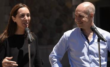 María Eugenia Vidal y Rodríguez Larreta sellaron un acuerdo de 'Cooperación Cultural'