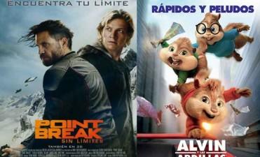 El cine se inunda de alegría, Alvin y las ardillas llegan al Avenida