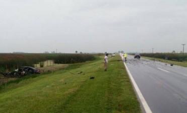 Grave Accidente: Tres personas oriundas de 9 de Julio, fallecieron en la Ruta Nacional 5