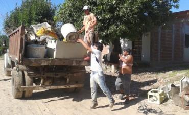 El municipio solicita a los vecinos colaboración con un nuevo operativo de descacharrado