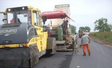 Empezaron con la repavimentación de la Ruta Provincial 50