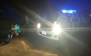 CPR: Incautaron moto sin dominio colocado ni faros correspondientes