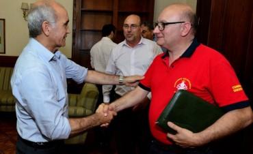 El Senado otorgó un subsidio de 35 mil pesos a bomberos voluntarios de Marcos Paz