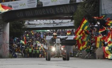 Diario La Nación eligió a Gastón Pando para referir el arribo argentino a La Paz