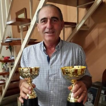 Carlos Larralde fue premiado en 'Festimayo', por su tropilla 'Los Overos'