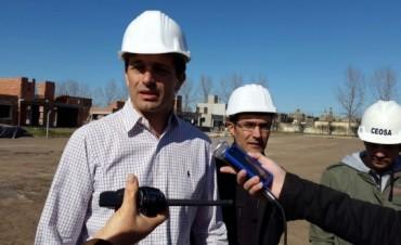 """Bucca: """"Realizaremos una puesta en valor del Cementerio local, se hará la rambla central en la extensión de avenida Calfucurá, con luminaria y sistema de monitoreo"""""""