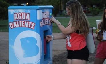 El Centro Cívico ahora cuenta con un dispenser de agua caliente