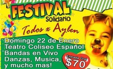 Festival Solidario a beneficio de Aylén Bazar en el Teatro Coliseo Español