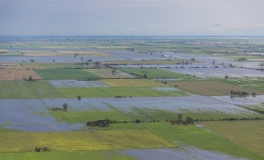 El 30% de la zona núcleo en alerta roja por las lluvias