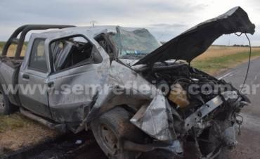 Pigüé: Cuatro muertos en accidente fatal en la ruta 33