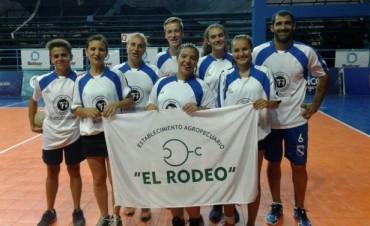 Este lunes se jugó una fecha más del Torneo Mixto de Cestoball 'Bolívar Saludable'