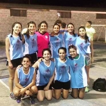 Torneo de Handball en el marco del programa 'Bolívar Saludable'