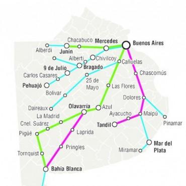 En la Provincia hay cien pueblos aislados por la falta de trenes