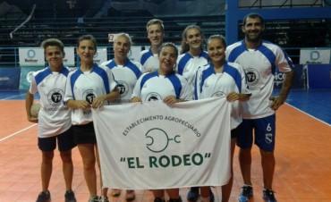 'El Rodeo' es el Campeón del Torneo Mixto de Cestoball 'Bolívar Saludable'