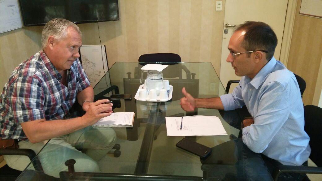 Marcos Pisano: 'Estamos peleando por la reanudación de la obra de la Línea 132'