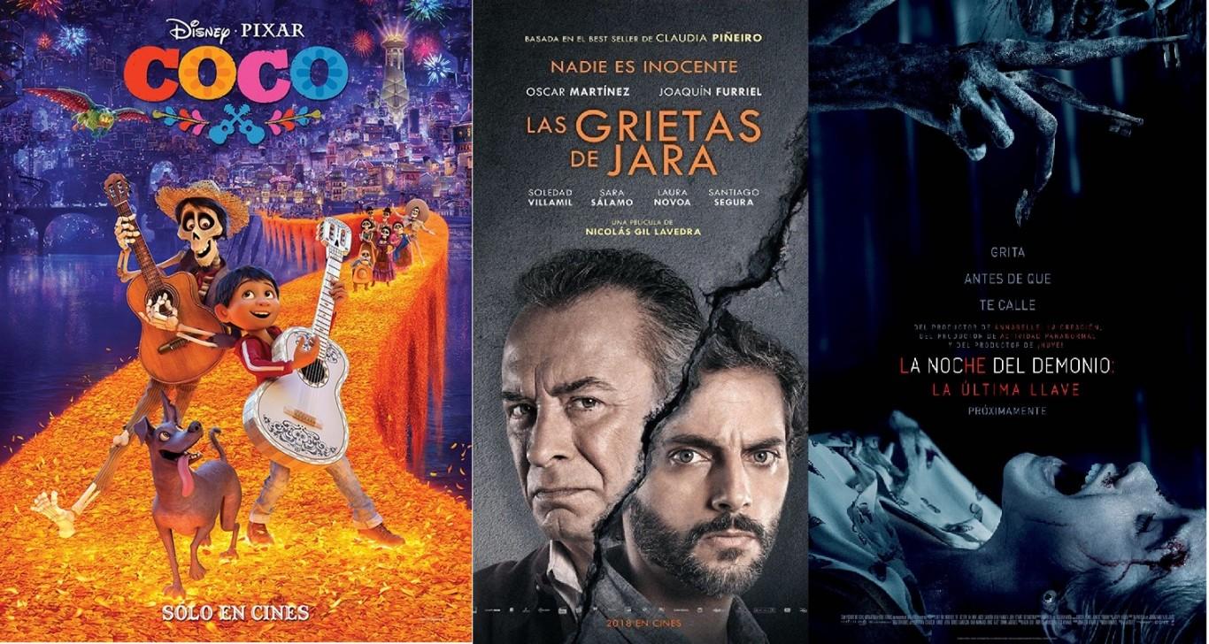 La grilla del Cine Avenida del 25 al 28 de enero